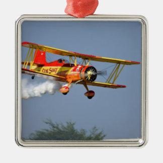 Gene Soucy performing aerobatics in Grumman Christmas Ornament