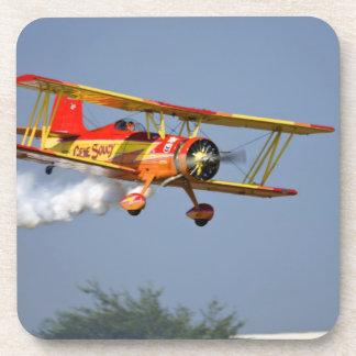 Gene Soucy performing aerobatics in Grumman Coaster