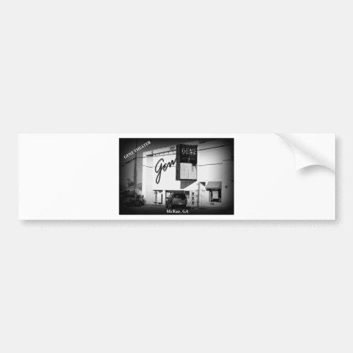 GENE THEATER - McRae, Georgia Bumper Sticker