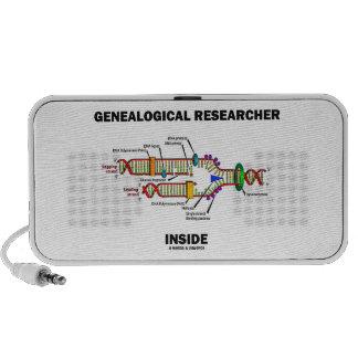 Genealogical Researcher Inside DNA Replication iPod Speaker