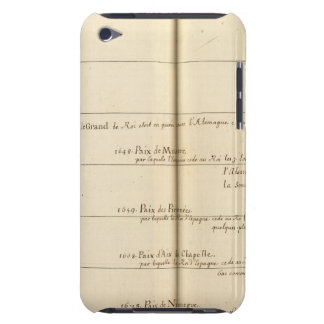 Genealogical Table, France 3 Barely There iPod Cases