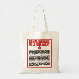 Genealogicus Vulgaris Budget Tote Bag