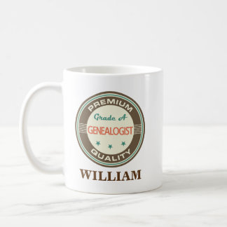 Genealogist Personalized Office Mug Gift