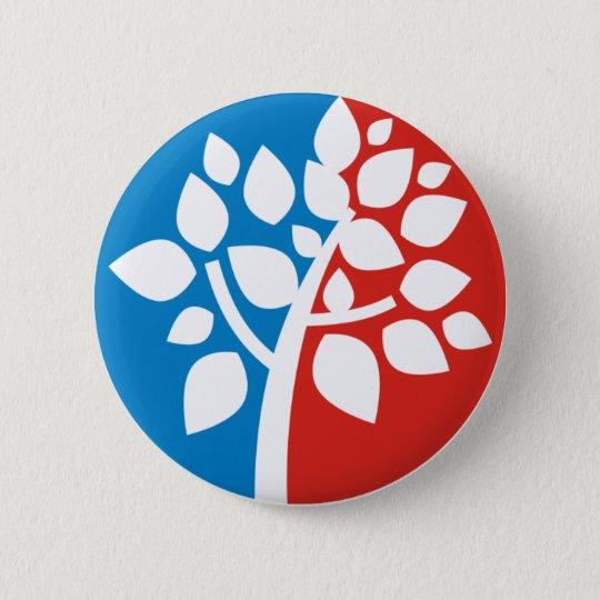 Genealogy 6 Cm Round Badge