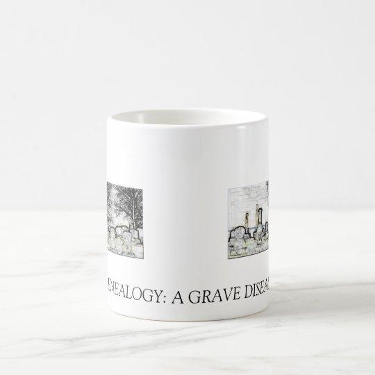 GENEALOGY: A GRAVE DISEASE COFFEE MUG
