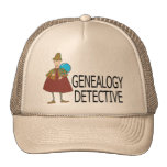 Genealogy Detective Cap