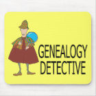 Genealogy Detective Mouse Mat