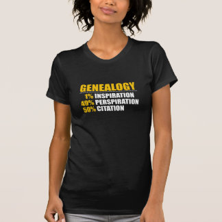 Genealogy Percentages T-Shirt