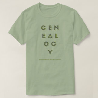 GENEALOGY Shirt Men's Green