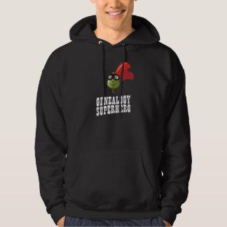 Genealogy Superhero Hooded Sweatshirts