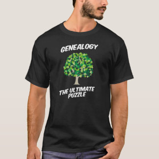 Genealogy - The Ultimate Puzzle T-Shirt