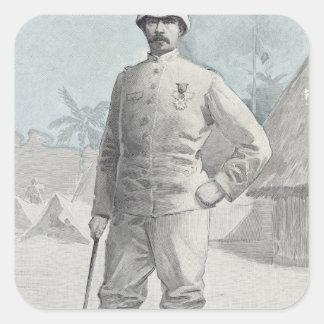 General Alfred Amedee Dodds Square Sticker