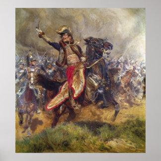 General Antoine-Charles-Louis Lasalle  1912 Poster