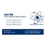 General Blue Elegant Business card