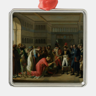 General Bonaparte Giving a Sword to the Silver-Colored Square Decoration