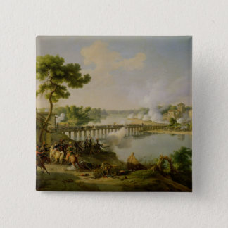 General Bonaparte  Giving Orders 15 Cm Square Badge