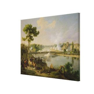 General Bonaparte  Giving Orders Canvas Print