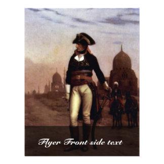 General Bonaparte In Cairo By Gérôme Jean-Léon (Be Personalized Flyer