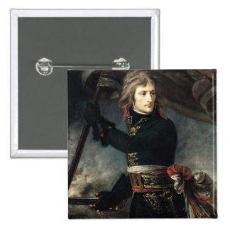 General Bonaparte  on the Bridge at Arcole 15 Cm Square Badge