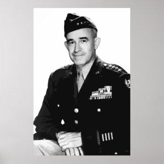 General Bradley -- War hero Poster