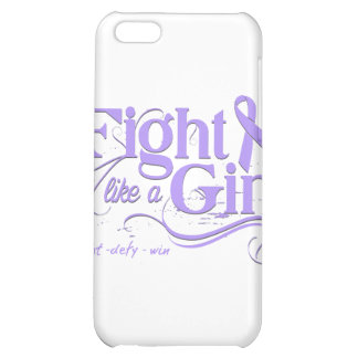 General Cancer Fight Like A Girl Elegant iPhone 5C Cover