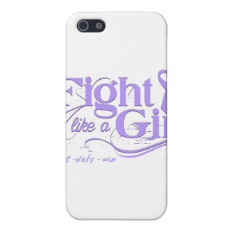 General Cancer Fight Like A Girl Elegant Cases For iPhone 5