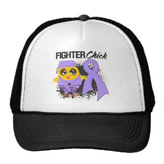 General Cancer Fighter Chick Grunge Hats