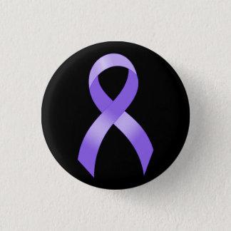 General Cancer - Lavender Ribbon 3 Cm Round Badge