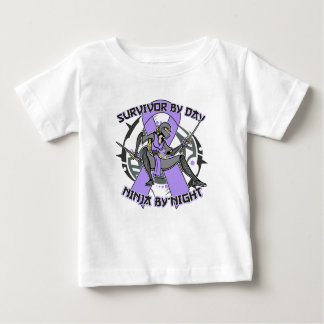 General Cancer Survivor By Day Ninja By Night Baby T-Shirt