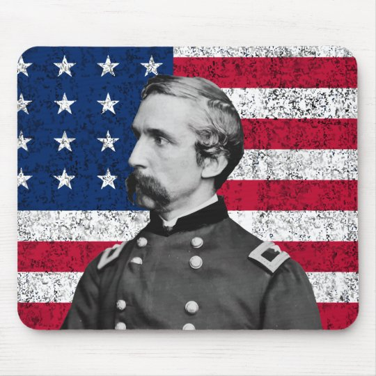 General Chamberlain and The American Flag Mouse Mat
