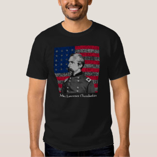 General Chamberlain and The American Flag Tshirts