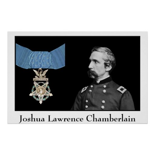 General Chamberlain and The Medal Of Honor Poster