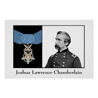 General Chamberlain and The Medal Of Honor Print