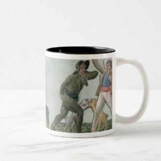 General Charles Lameth  and Charles Eugene Two-Tone Coffee Mug
