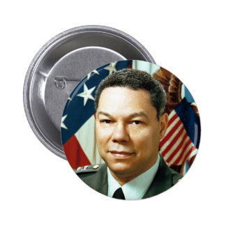 General Colin Powell 6 Cm Round Badge