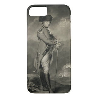 General Cornwallis (1738-1805) engraved by John Jo iPhone 8/7 Case