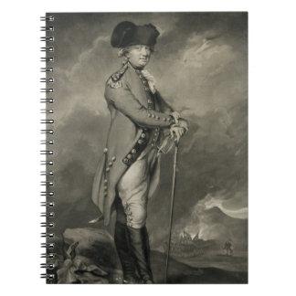 General Cornwallis (1738-1805) engraved by John Jo Notebooks