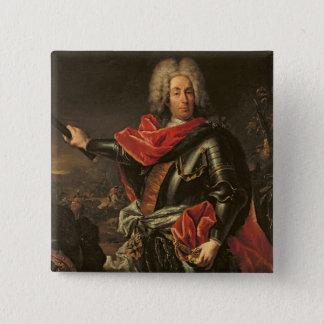General Count Johann Matthias von der Schulenburg 15 Cm Square Badge