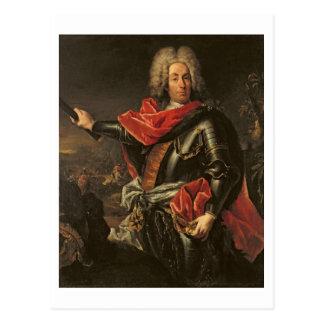 General Count Johann Matthias von der Schulenburg Postcard