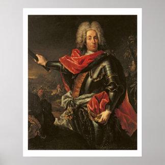 General Count Johann Matthias von der Schulenburg Poster