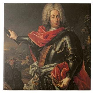 General Count Johann Matthias von der Schulenburg Tile