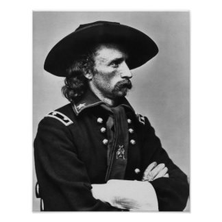 General Custer - Civil War Poster