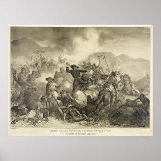 General Custer's Death Struggle [1878?] Poster