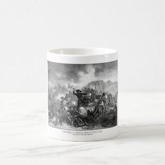 General Custer's Death Struggle Basic White Mug