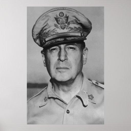 General Douglas MacArthur Print