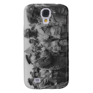 General Dwight D Eisenhower with Paratroopers Galaxy S4 Covers