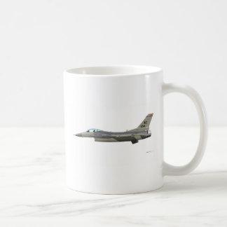 General Dynamics F-16D Falcon AZ ANG 89012 Basic White Mug