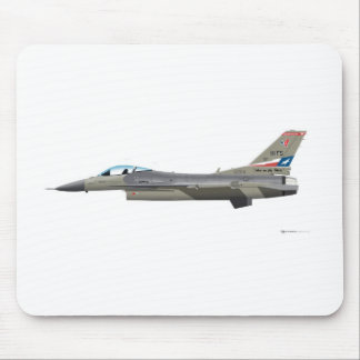 General Dynamics F-16D Falcon TEXAS ANG 84254 Mouse Pad