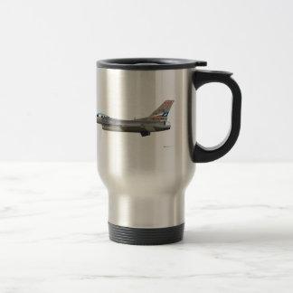 General Dynamics F-16D Falcon TEXAS ANG 84254 Mugs