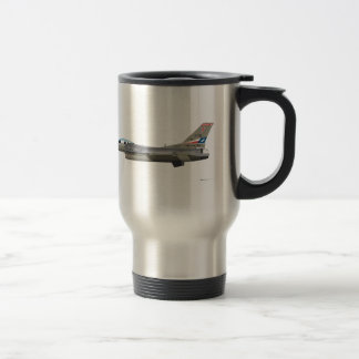 General Dynamics F-16D Falcon TEXAS ANG 84254 Stainless Steel Travel Mug